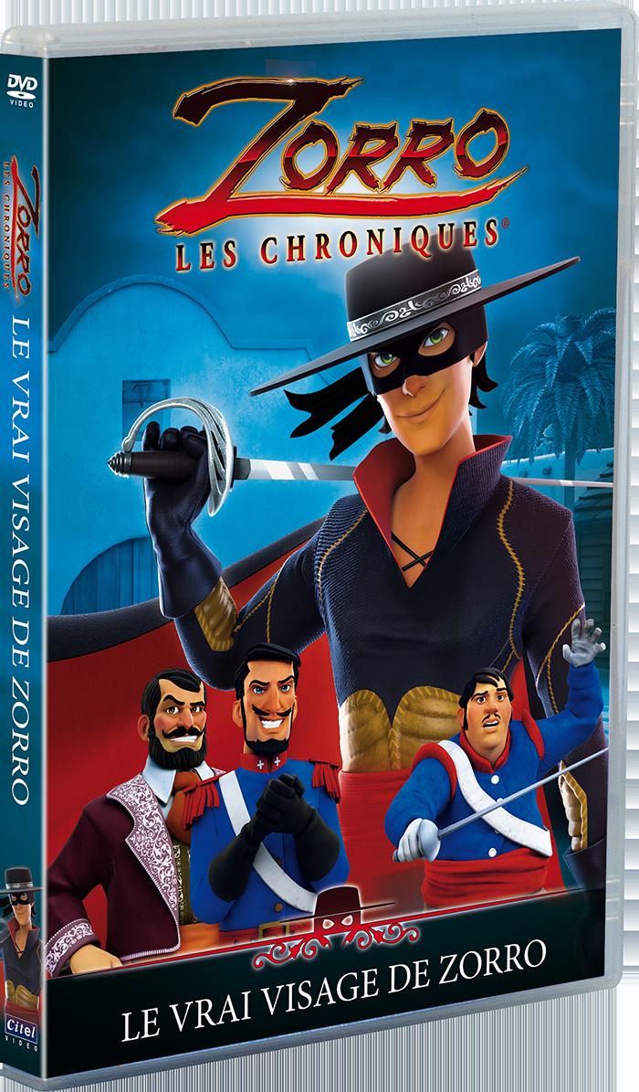 Zorro Les Chroniques - Le Vrai Visage De Zorro
