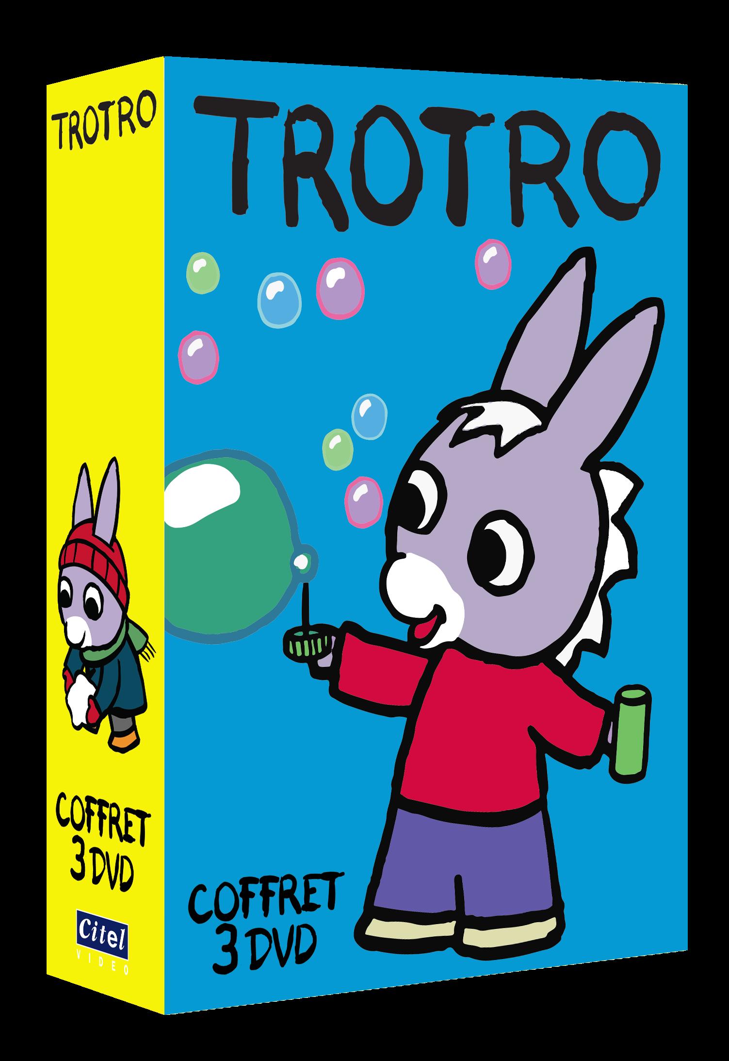 Coffret 3 dvd 2 citel vid o - Trotro et noel ...