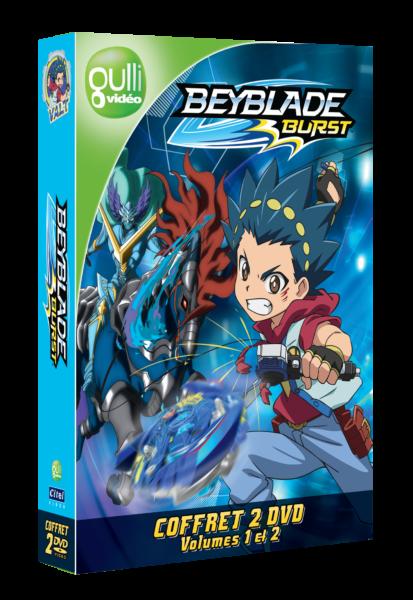 3D Coffret Beyblade 2 DVD