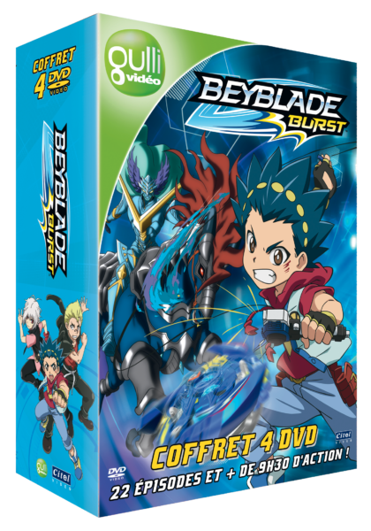 3D Coffret Beyblade 1