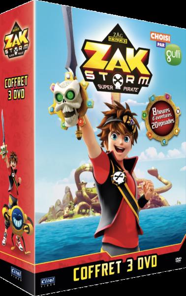Coffret 3 dvd Zak storm