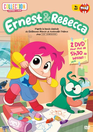 Ernest & Rebecca - coffret 2 DVD