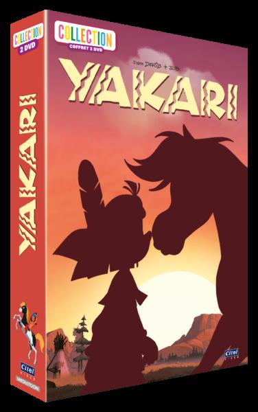 Yakari coffret 2 DVD - 3D - saison 5