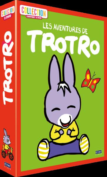 Les aventures de Trotro - coffret 3D
