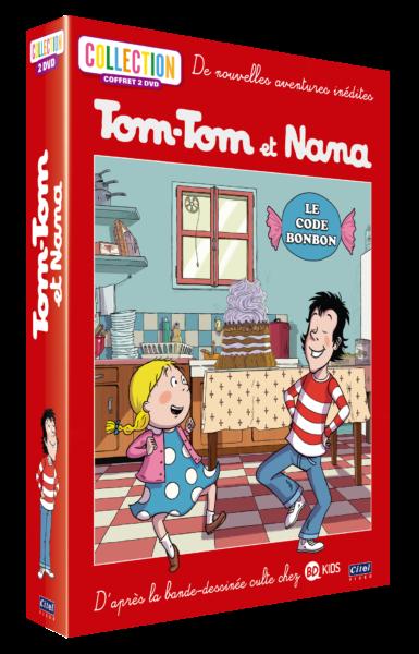 Tom-Tom et Nana - Coffret 2DVD - Le code bonbon 3D