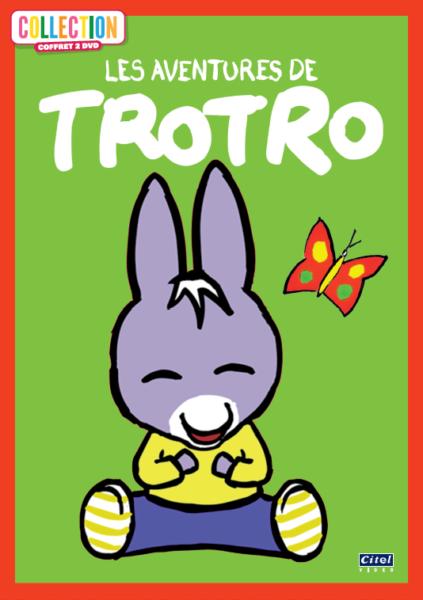 Les aventure de Trotro coffret 2DVD 2D
