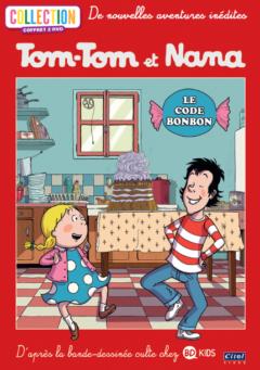 Tom-Tom et Nana - Coffret 2DVD - Le code bonbon 2D