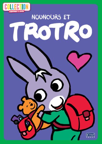 Trotro et Nounours coffret 2DVD 2D