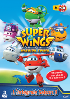 Super Wings - l'intégrale de saison 3 - coffret 3 DVD