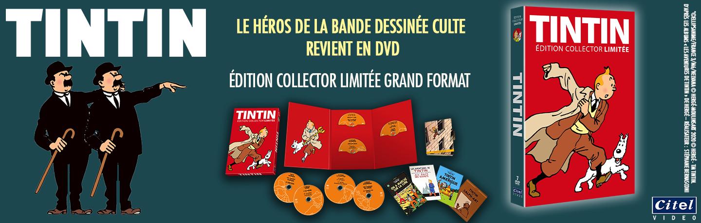 Tintin coffret A4 édition limitée collector
