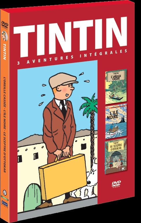 Les aventures de Tintin : 3 aventures - vol.2 DVD
