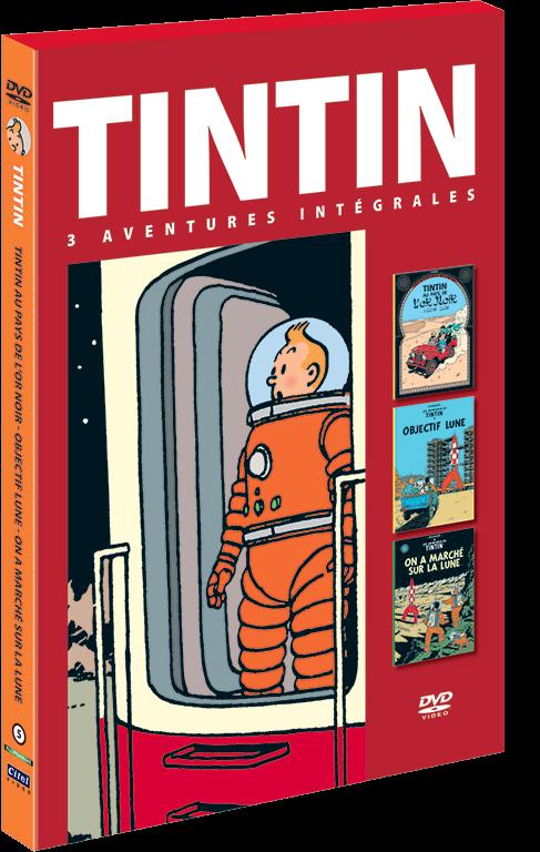 Les aventures de Tintin : 3 aventures - vol.5 DVD