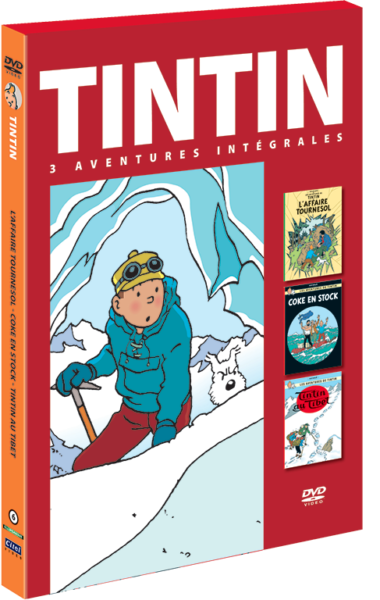 Les aventures de Tintin : 3 aventures - vol.6 DVD