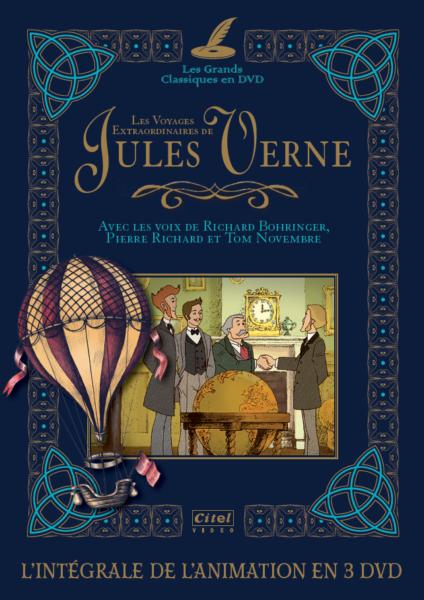 Les voyages extraordinaires de Jules Verne_Intégrale 3DVD