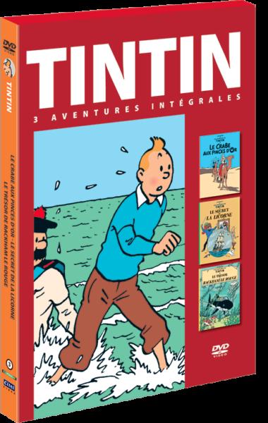 Les aventures de Tintin : 3 aventures - vol.3 DVD