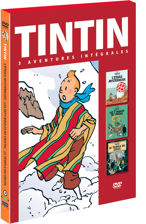 Les aventures de Tintin : 3 aventures - vol.4 DVD